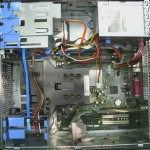 Dell Optiplex 745 interior