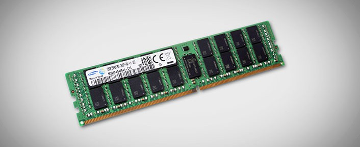 Noi module de memorie de la Samsung, 128GB DDR4 TSV (Through Silicon Via)