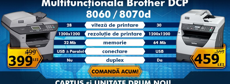 Multifunctionale Brother DCP 8060/8070D la super preturi!
