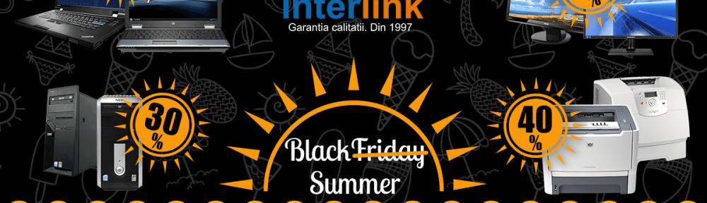 Black Summer la Interlink – Echipamente IT cu reduceri de pana la 50% si produse supriza. STOC LIMITAT!