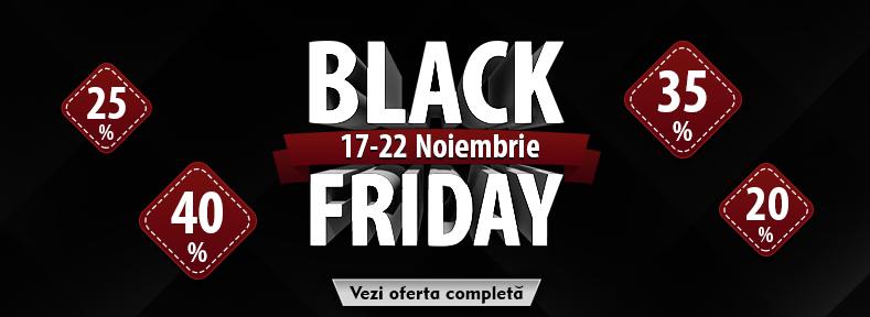 Black Friday vine cu Reduceri uimitoare!