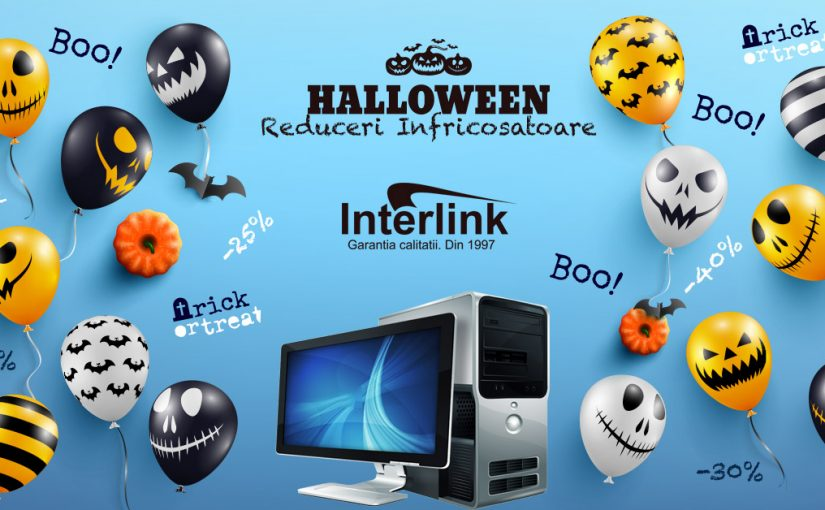 Reduceri de Halloween!