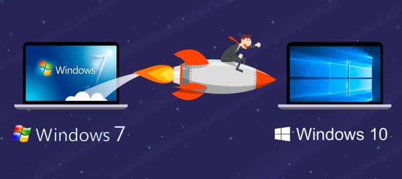Microsoft si-a luat ramas bun de la Windows 7 si de la milioanele de calculatoare care inca il ruleaza…