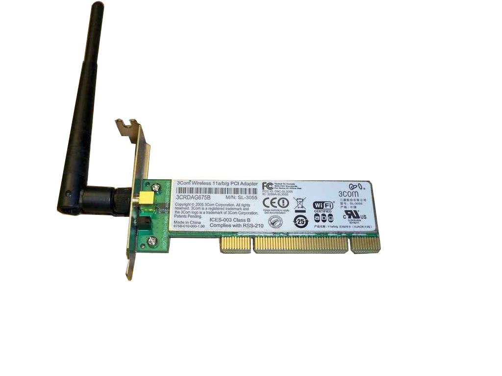 Placa de retea 3COM 3CRDAG675B, PCI, Low Profile