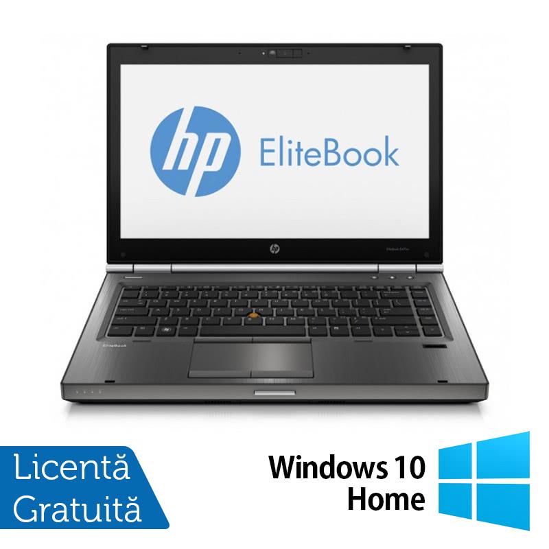 Laptop HP EliteBook 8470P, Intel Core i5-3210M 2.50GHz, 4GB DDR3, 500GB SATA, DVD-RW + Windows 10 Home