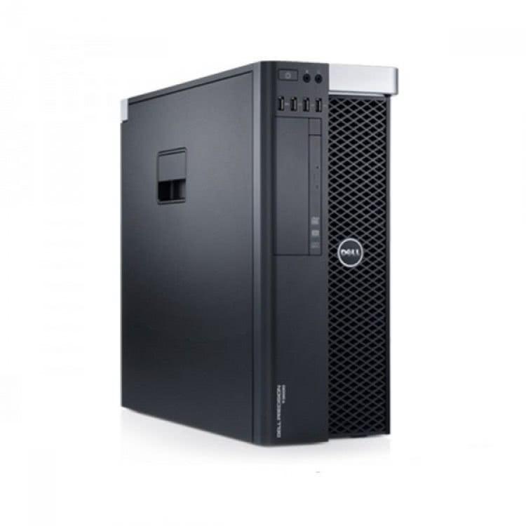 Workstation DELL Precision T3600 Intel Xeon Hexa Core E5-1650 3.20GHz-3.80GHz, 32GB DDR3 ECC, 2TB HDD SATA + 240GB SSD SATA, DVD-ROM, Placa video NVIDIA QUADRO K5000 4GB/GDDR5