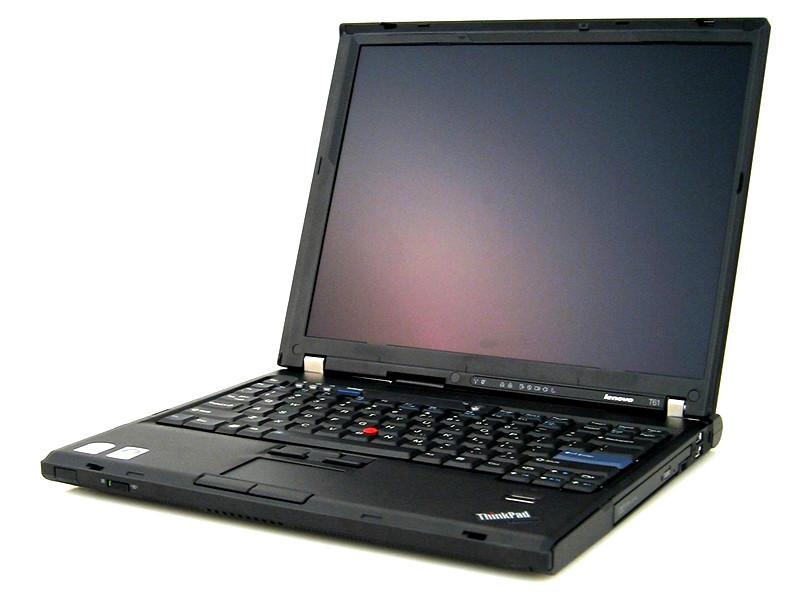 Lenovo T61, Intel Core 2 Duo T7100, 1.8Ghz, 2Gb DDR2, 80Gb, DVD-Rom, 15.4 inci LCD, GRAD B cu baterie nefunctionala