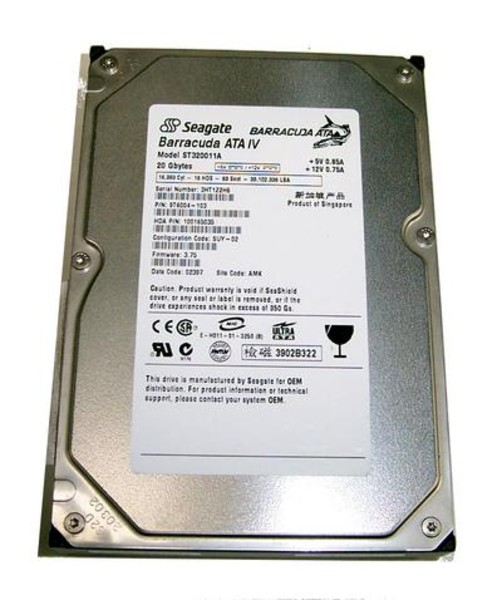 Hard disk 20 Gb, 3.5 inci, interfata IDE, diverse modele