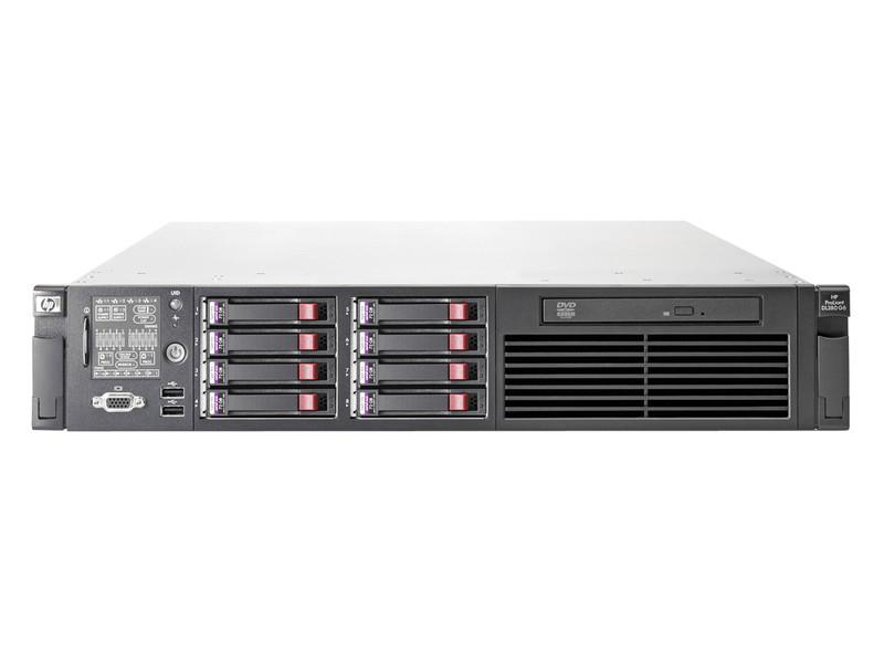 Server HP ProLiant DL380 G6, 1x Intel Xeon Quad Core E5506 2.13Ghz, 48Gb DDR3 ECC, 2x 450Gb SAS, DVD-ROM, RAID P410i, 1 x 750W HS