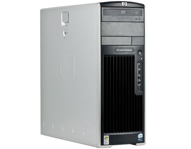 Workstation Second Hand HP XW6400, 2 x Intel XEON E5130, 2 GHZ, 4Gb DDR2 ECC, 80Gb SATA, CD-rom, NVIDIA QUADRO NVS 280