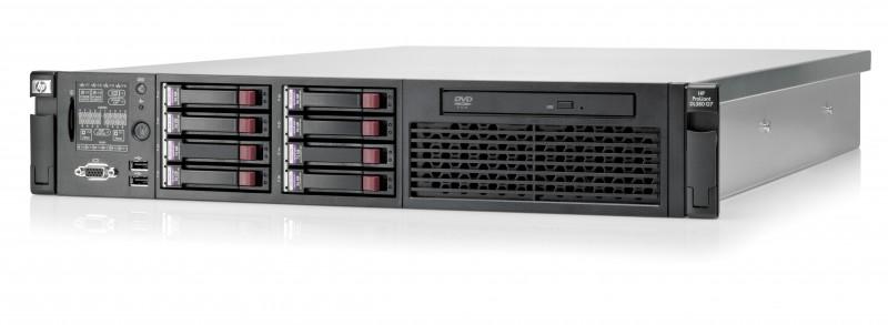 Server Baze de Date HP Proliant DL380 G7, 2x Intel Xeon Hexa E5649 2.53Ghz, 192Gb DDR3 ECC Registered, 8x450Gb SAS, RAID P410I/512MB Flash Backed Cache Controller, ILO3 2x Surse HS, Fara Optic