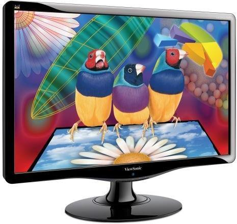 Monitor VIEWSONIC VA2431W, LCD 24 inch, 1920 x 1080, VGA, DVI, WIDESCREEN, Full HD, Grad A-