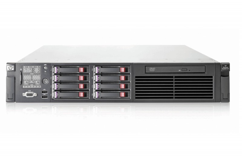 HP Proliant DL380 G7, 2x Intel Xeon Hexa Core E5649 2.53GHz-2.93GHz, 96Gb DDR3 ECC, 6x 450Gb SAS + 2x 240GB SSD SSATA, RAID P410I/512MB, 2x Surse HS