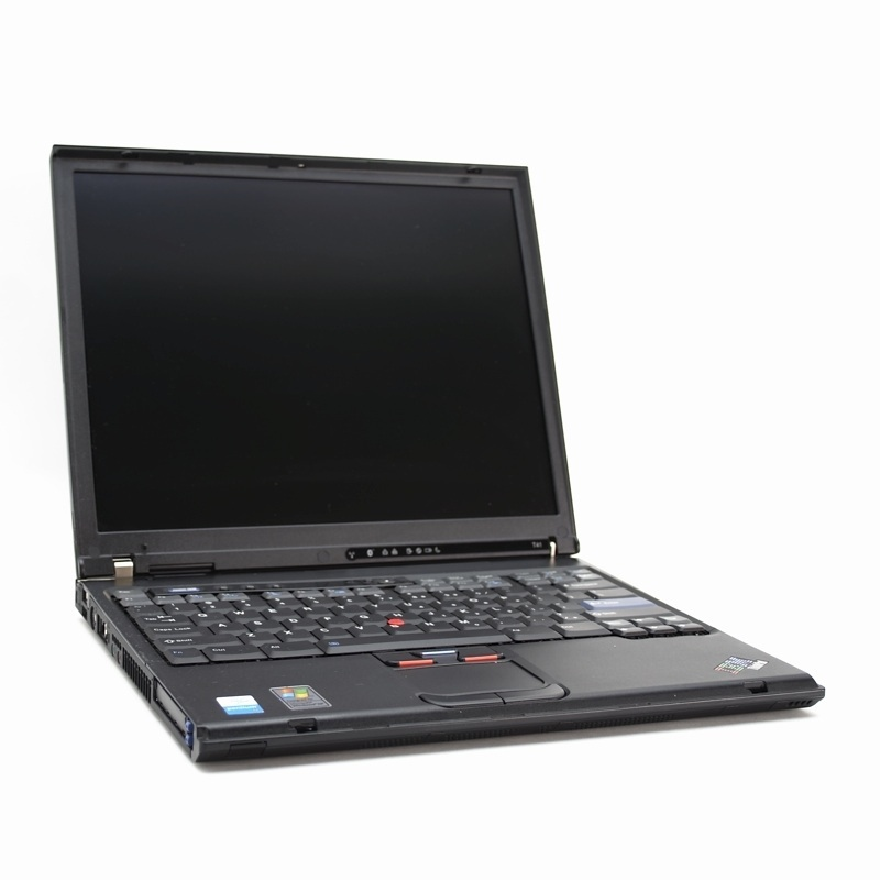 Laptop IBM ThinkPad T42, Pentium M 1.7 GHz, 512MB DDR, 40GB SATA, DVD-ROM, Grad B