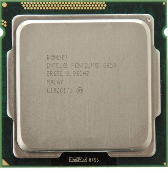 Procesor Intel Pentium Dual Core G850 2.90 GHz, 3M Cache, Socket FCLGA1155